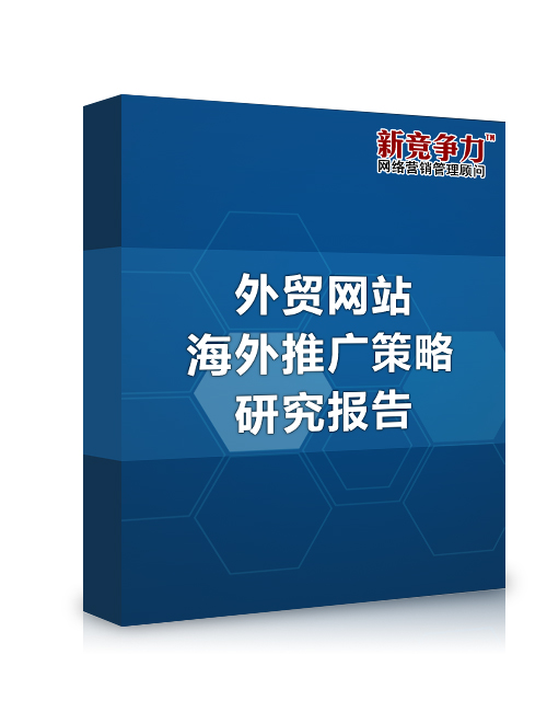 外贸网站海外推广策略研究报告